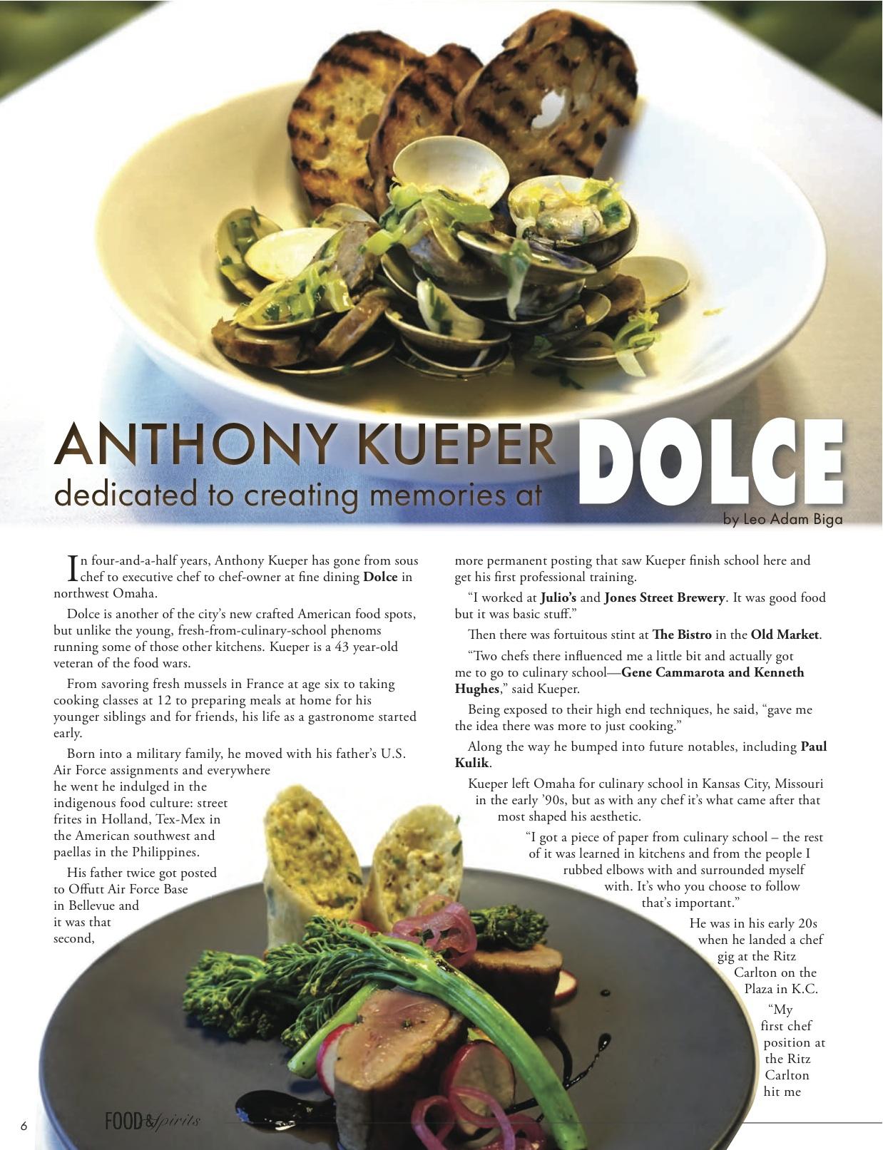 Food | Leo Adam Biga\'s My Inside Stories