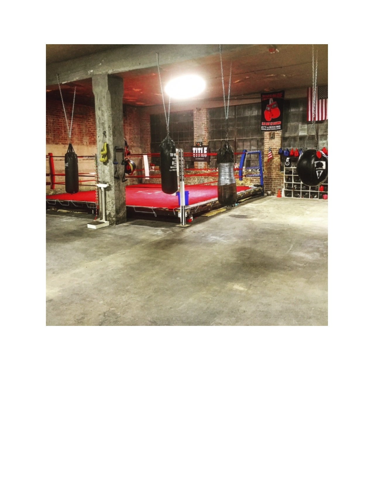 From couch potato to champion pugilist